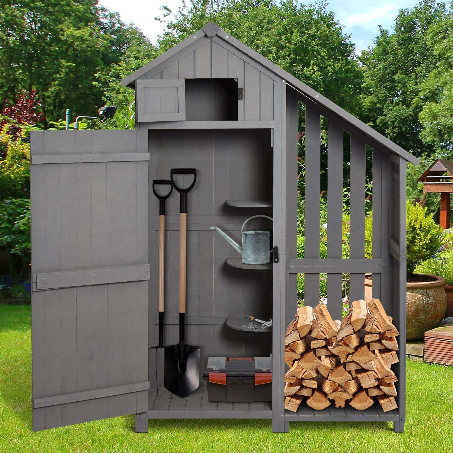 Image for Top 5 Interesting Ideas for Garden Storage